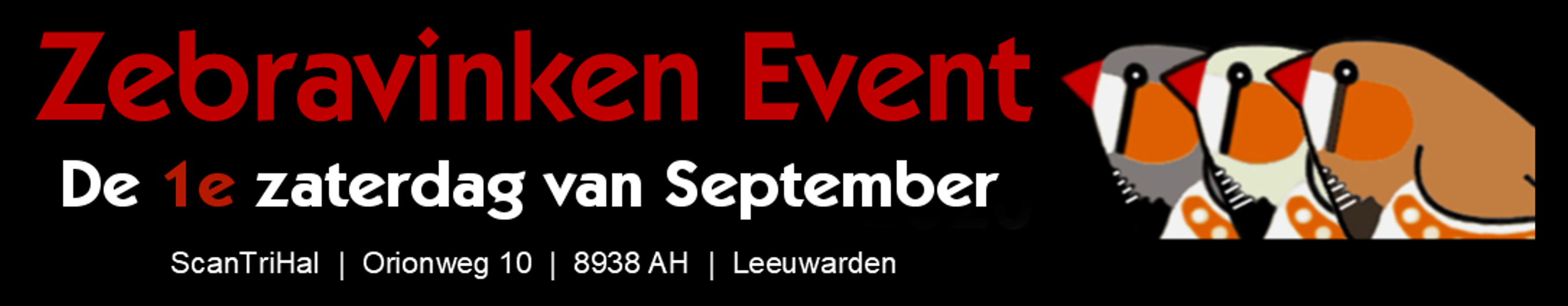 Zebravinken Event